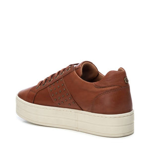Carmela Leather Sneakers Tan