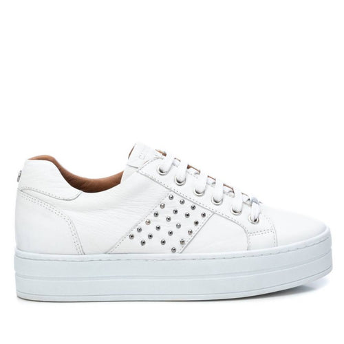 Carmela Leather Sneakers White
