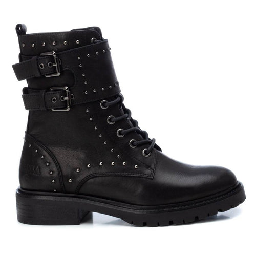 Carmela Leather Biker Boot