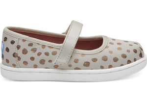 Toms Rose Gold Dot Infant