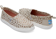 Load image into Gallery viewer, Toms Rose Gold Dot Youth