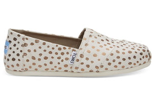 Toms Rose Gold Dot