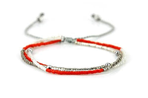 Boho Betty Coral Friendship Bracelet