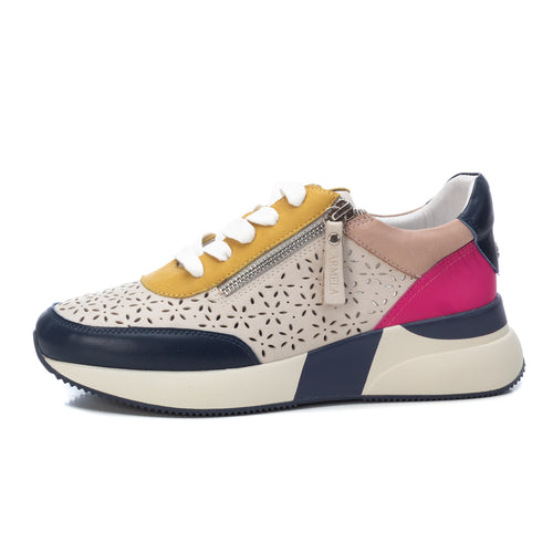 Carmela Leather Trainers - Multi