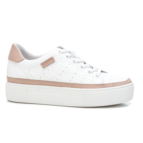 Carmela Leather Trainers - White