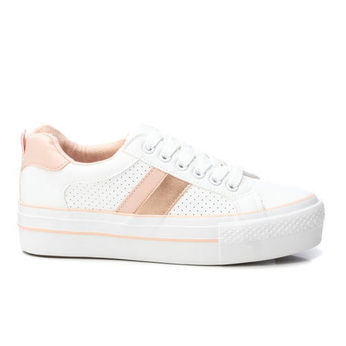 Refresh Trainers - White/Nude