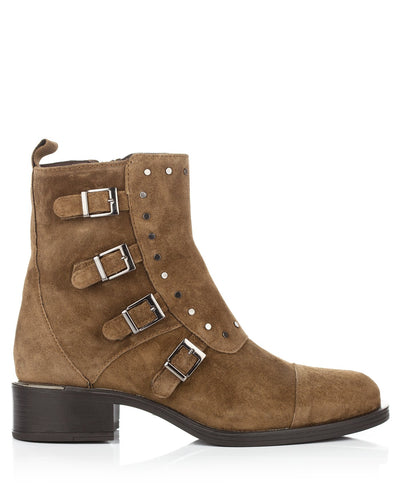 Alpe Buckle Ankle Boots