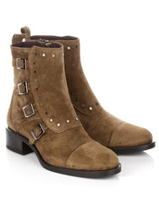 Load image into Gallery viewer, Alpe Buckle Ankle Boots