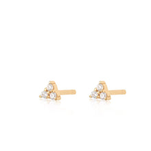 Load image into Gallery viewer, SP Trinity Stud Earstuds - Gold
