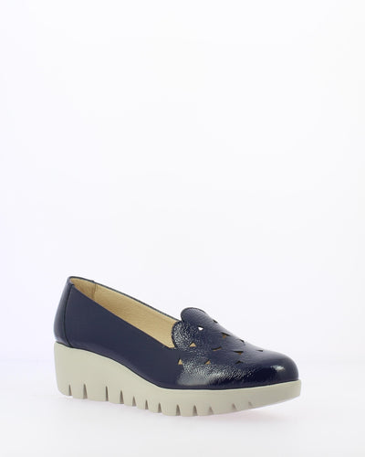 Wonders Patent Leather Wedge