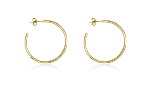 Boho Betty Julin 34mm Gold Hoops