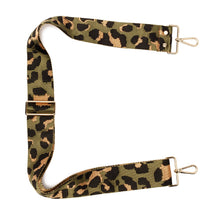 Load image into Gallery viewer, Crossbody Strap - Green Leopard