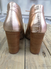 Load image into Gallery viewer, Bourbon Gold Metallic Shoe Boot
