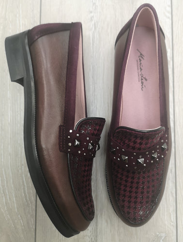 Maria Leon Leather Loafer