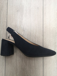 Wonders Suede Sling back