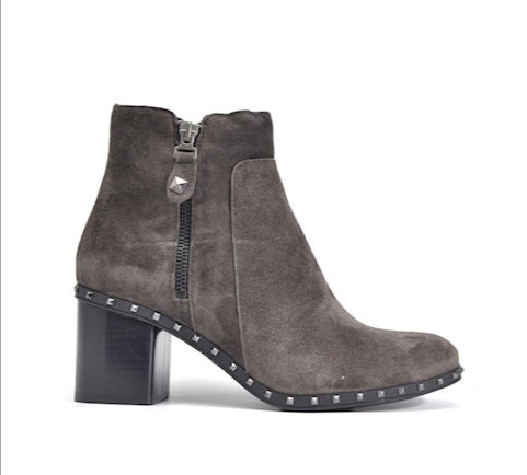 Alpe Suede Ankle Boot - Grey