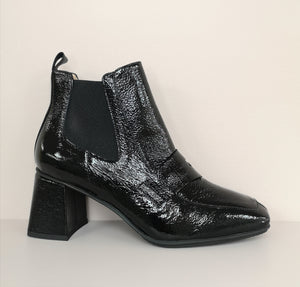 Hispanitas Patent Ankle Boot