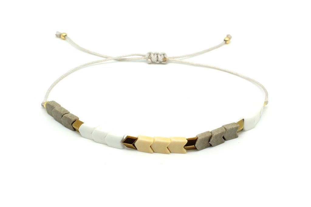 Boho Betty Pepo Bracelet Gold