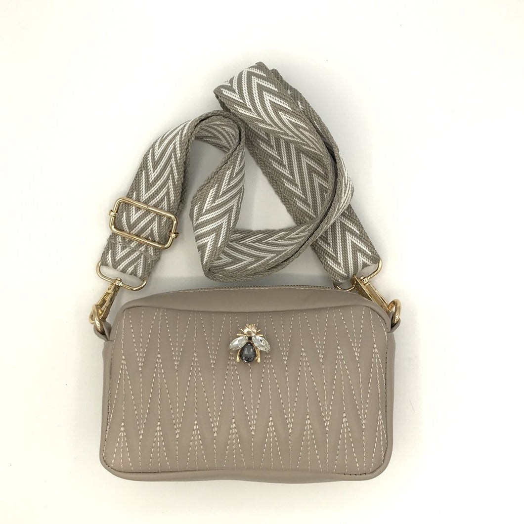 Rivington Crossbody Small - Taupe
