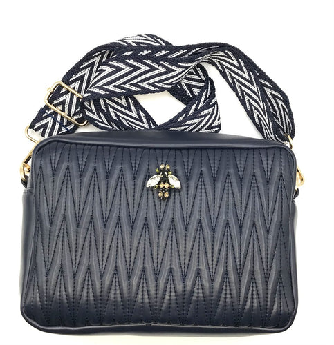 Rivington Crossbody Large - Navy