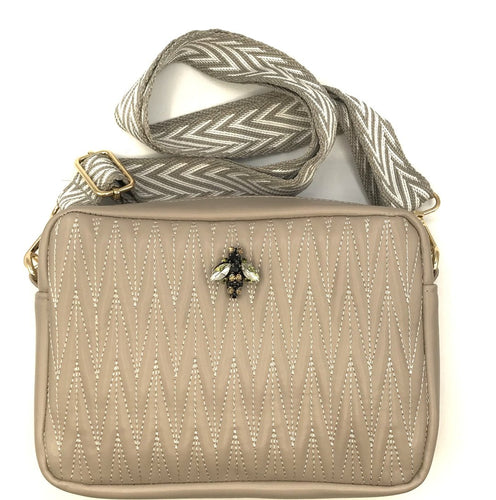 Rivington Crossbody Large - Taupe