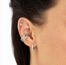 Load image into Gallery viewer, SP Sparkling Earcuff Silver