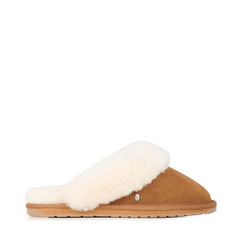 Emu Jolie Slipper Chestnut