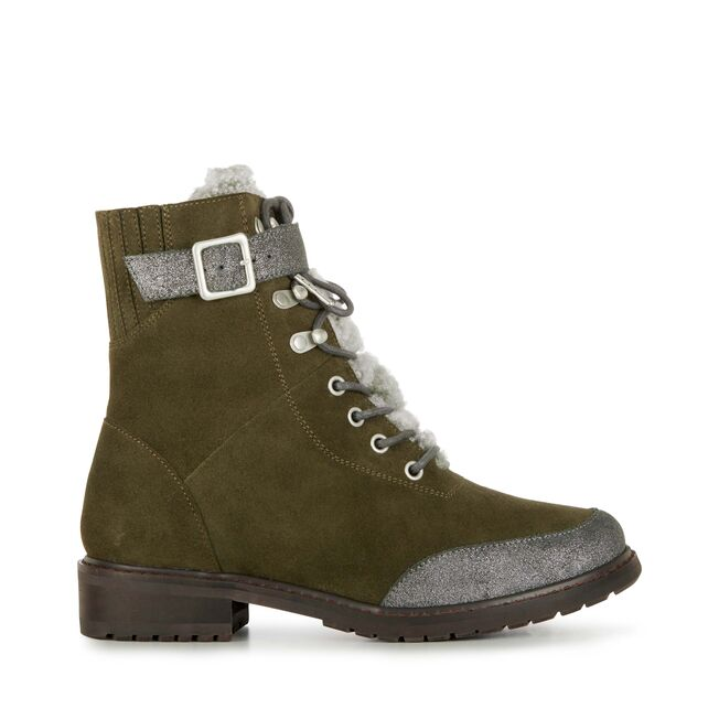 Emu Waldron Sheepskin Boot Green