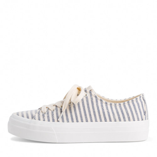 Tamaris Navy Striped Trainer