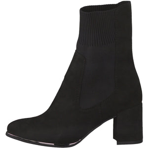 Marco Tozzi Sock Boot Black