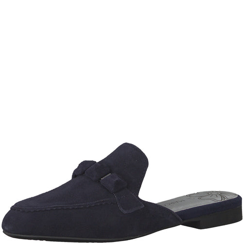 Marco Tozzi Navy Loafer Slider