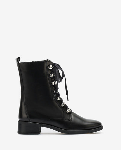 Unisa Laceup Leather Boot