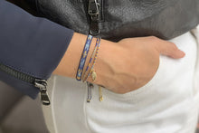 Load image into Gallery viewer, Boho Betty Clarinet Bracelet Navy