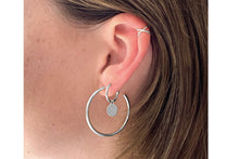Load image into Gallery viewer, Boho Betty Shaye Earcuff Silver