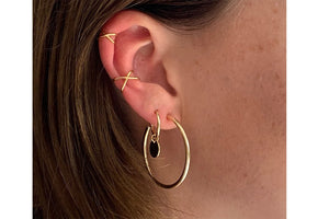 Boho Betty Shaye Earcuff Gold