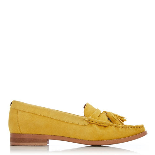 Moda in Pelle Suede Loafer