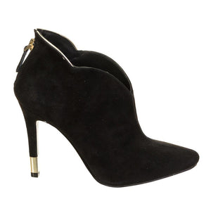 Guess Black Suede Shoeboot