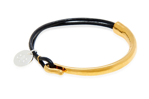 Boho Betty Leather Bangle