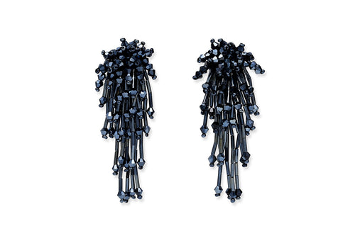 Boho Betty MAYURA BEADED EARRINGS