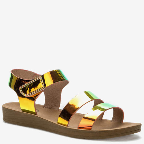Mirrored Effect Sandals