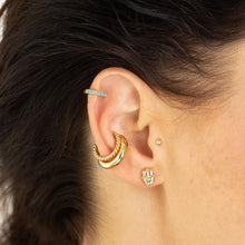 Load image into Gallery viewer, SP Twist Ear Cuff - Gold
