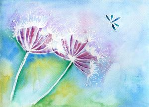 Painting Flowers in Watercolour with Claire Harrison