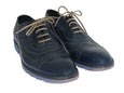 Blue Leather Formal Shoes