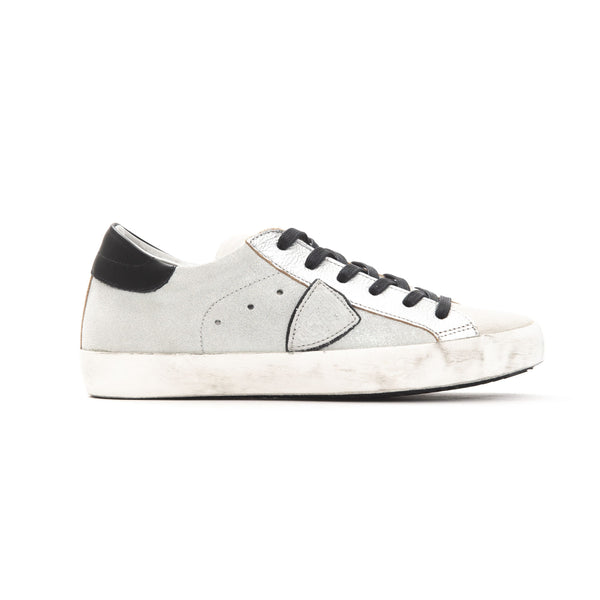 Philippe Model Argento Silver Sneakers