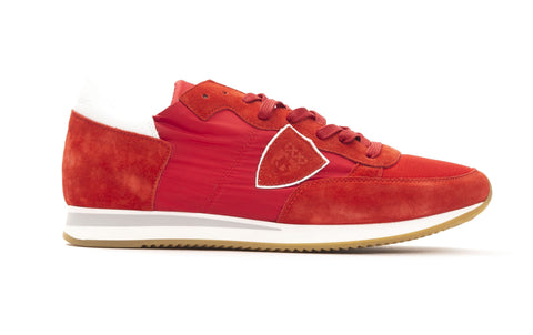 PHILIPPE MODEL Rosso Rouge Sneakers