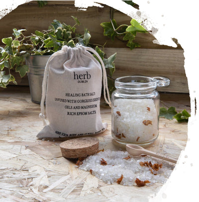 Healing Bath Salts - Peppermint & Eucalyptus