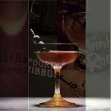Load image into Gallery viewer, Jan. 3rd, 6:30 - 8:30PM - ICONIC NYC COCKTAILS (4 Drink Menu)