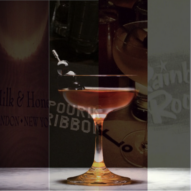 Jan. 3rd, 6:30 - 8:30PM - ICONIC NYC COCKTAILS (4 Drink Menu)