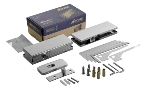 GLASS DOOR FITTINGS SET