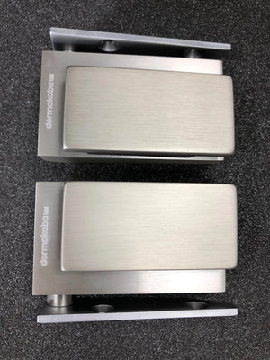 DORMA Stainless Steel Glass Door Corner Pivot Hinges - QIC Ironmongery